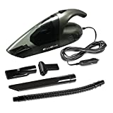 Image of GlowGeek Car Vacuum Cleaner,12V,Power:80W,3.2KPA Suction, Wet/Dry Handheld Auto Car Vacuum Cleaner,Blow Cleaner and Vacuum Cleaner Function,13.2FT(4M) cord,4 in 1 Mouths (Space Grey)