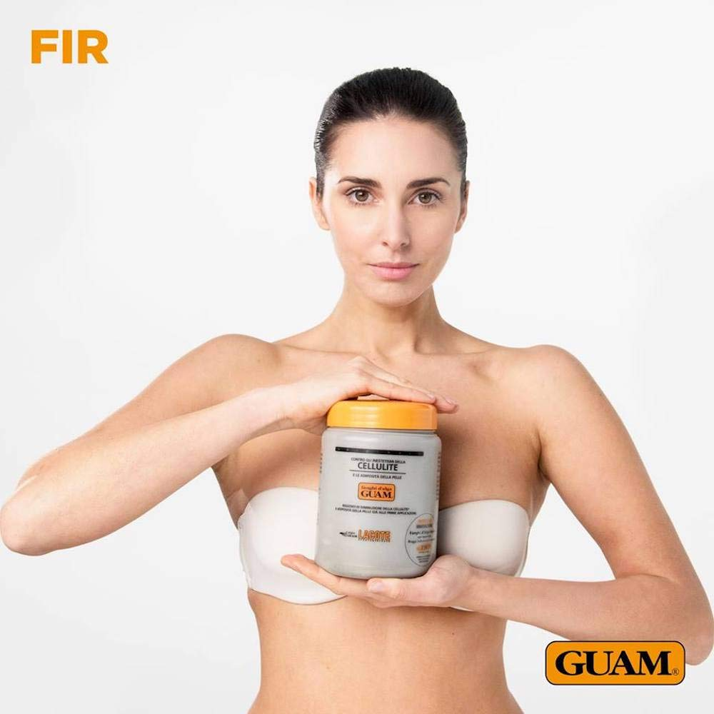 Guam Anti Cellulite Treatment, Seaweed Body Wrap, Original Formula, 1KG Mud by Guam