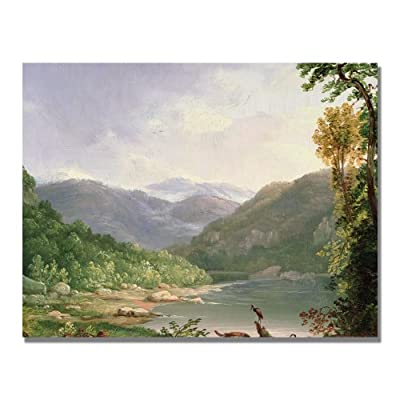 Trademark Art Kentucky River Canvas Art by Thomas Whittredge