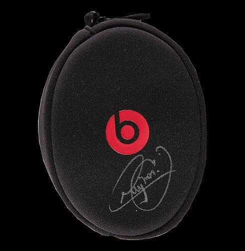 Neymar Jr Autographed Signed Beats Solo2 On-Ear Headphone Case - Certified Authentic...