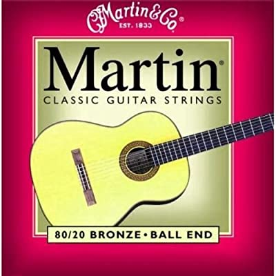 Martin M260 80/20 Bronze Ball End Classical Guitar Strings