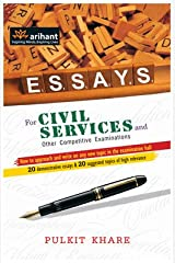 ESSAYS for Civil Services and Other Competitive Examinations Paperback