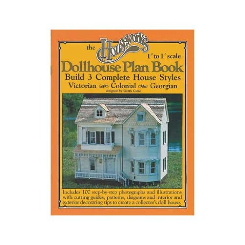 Dollhouse The 3-in-1 Dollhouse Plan Book (Dollhouse Book 1 Plan)