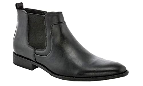 7252784ee86 Franco Vanucci Formal Men's Zip up Ankle Chelsea Casual Lace up Dress Boots