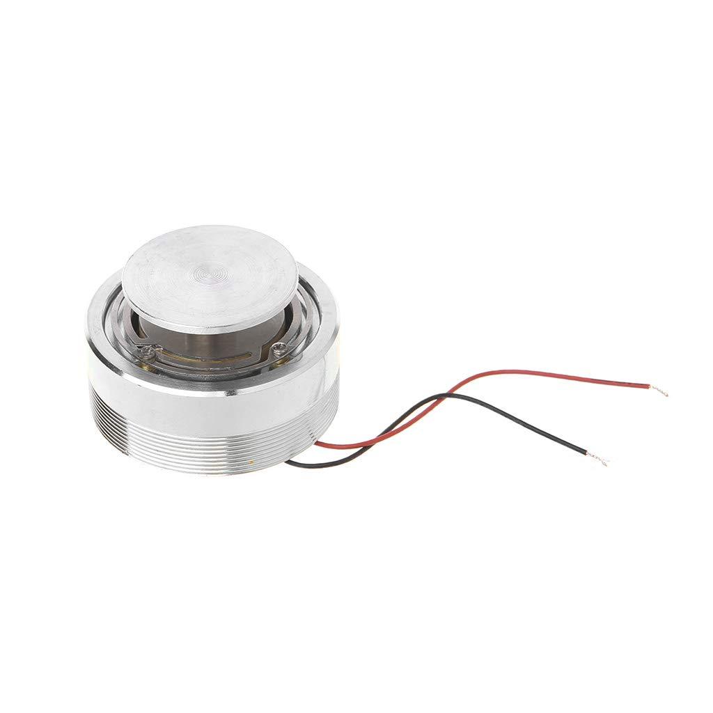 Tebatu レゾナンススピーカー DIY 振動ラウドスピーカー 強力な低音 50mm 4Ω 25W 1個 B07HBSFBSR