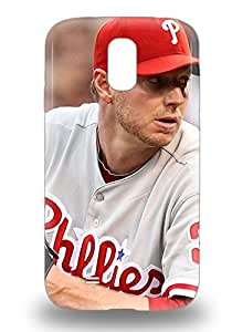 Galaxy 3D PC Case Cover With MLB Philadelphia Phillies Roy Halladay #34 Nice Appearance Compatible With Galaxy S4 ( Custom Picture iPhone 6, iPhone 6 PLUS, iPhone 5, iPhone 5S, iPhone 5C, iPhone 4, iPhone 4S,Galaxy S6,Galaxy S5,Galaxy S4,Galaxy S3,Note 3,iPad Mini-Mini 2,iPad Air )