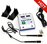 Dental Lab Electric Waxer Carving Knife Machine Double Pen and 6 Wax Tips