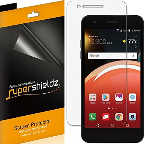 [6-Pack] Supershieldz for LG Zone 4 (Verizon) Screen Protector, High Definition Clear Shield + Lifetime Replacements Warranty