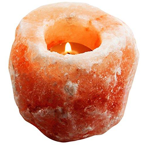 Evolution Salt ENC-01 Natural Tealight Candle Holder 1 Hole