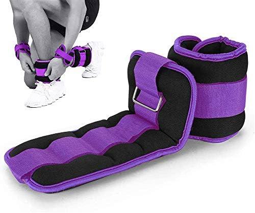 HJWL Gewichtsmanschetten Verstellbares Neopren Fußgelenkgewichte 0.5kg-3kg Armgewichte Handgelenkgewichte für Fitness, Bewegung, Laufen, Joggen, Gymnastik