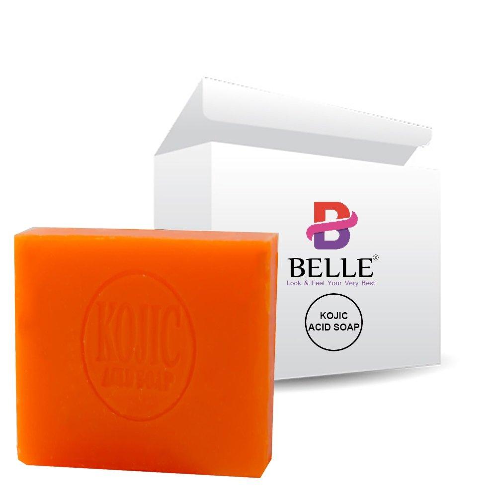 Belle® Skin Whitening Lightening Brightening Kojic Acid Soap - 65g