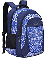 Book Bag by Fenrici for Boys, Girls in Primary and Secondary Schools, 46 cm Backpack for Kids and Teens, Supporting a Great Cause (Persistence, L)
