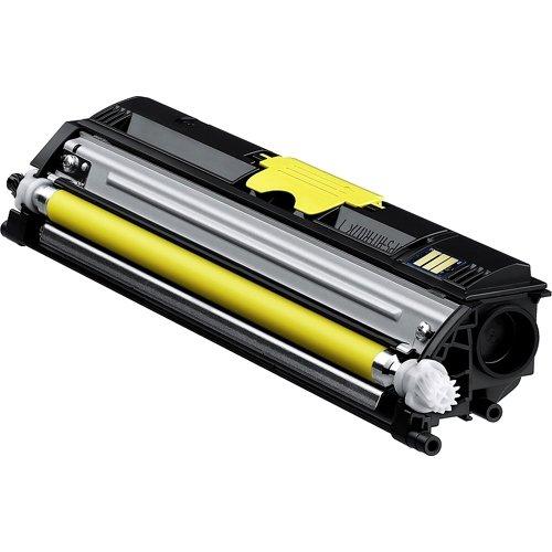 Konica Minolta Yellow Toner Cartridge . Laser . 2500 Page . Yellow