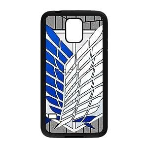 Attack On Titan Fashion Comstom Plastic case cover For Samsung Galaxy S5