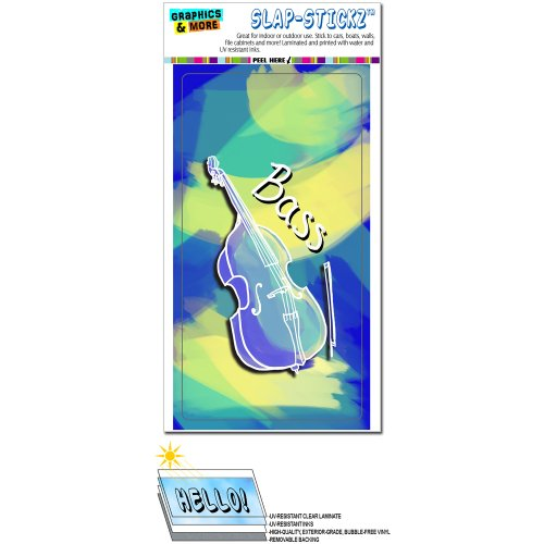 upright bass decals - 9