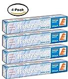 PACK OF 4 - Freeze-Tite Premium Plastic Wrap