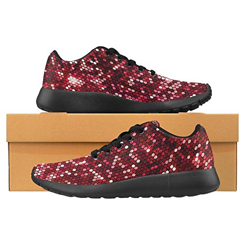 Interestprint Femmes Jogging Running Sneaker Léger Aller Facile À Pied Casual Confort Sport Chaussures De Course Multi 19