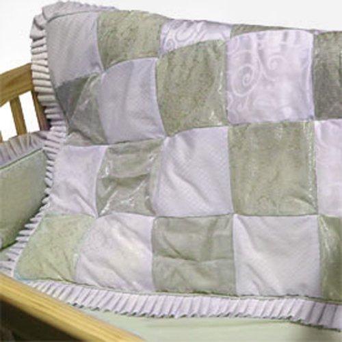 Baby Doll Bedding King Mini Crib/ Port-a-Crib Set, Sage