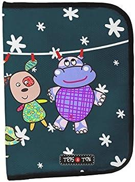 Tris&Ton Portadocumentos para bebé, niño y niña modelo Friends (Tris y Ton)