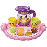 VTech Learn and Discover Pretty Party Playset, Great Gift for Kids, Toddlers, Toy for Boys and Girls, Ages Infant, 1, 2, 3