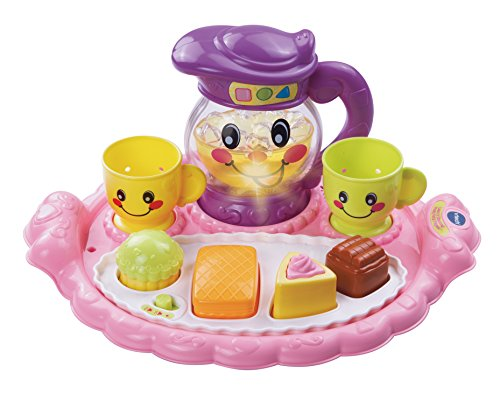 VTech Learn and Discover Pretty Party Playset (Tea Set For Toddlers)