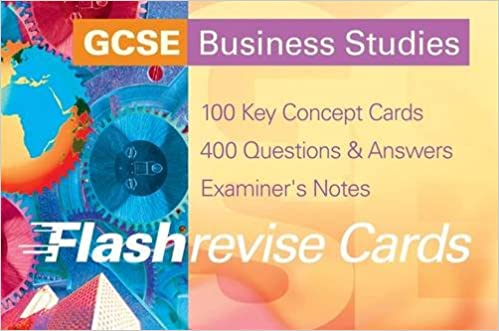 GCSE Business Studies FlashRevise Cards (Flash Revise Cards