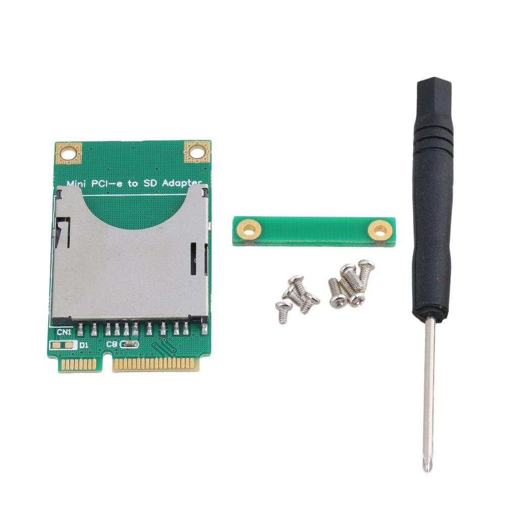 BQLZR SD SDHC SDXC SSD HDD a MINI PCI-E tarjeta de memoria lector adaptador convertir memoria