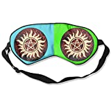 USYOMASK 100% Silk Sleep Mask for A Full Night's Sleep Comfortable and Super Soft Eye Mask Works with Every Nap Position, Supernatural Anti Possession