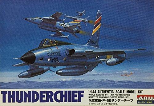 マイクロエース 1/144 ジェットファイターシリーズシリーズ F-105サンダーチーフの商品画像