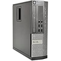Dell 990 Elite Desktop - Intel Core i5 Quad 3.10 GHz, 8GB DDR3, New 1TB Hard Drive, Windows 10 Pro 64-Bit, WiFi, DVD-ROM (Prepared By ReCircuit)