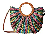 Patricia Nash Straw Lesa Tote Bright Multi One Size