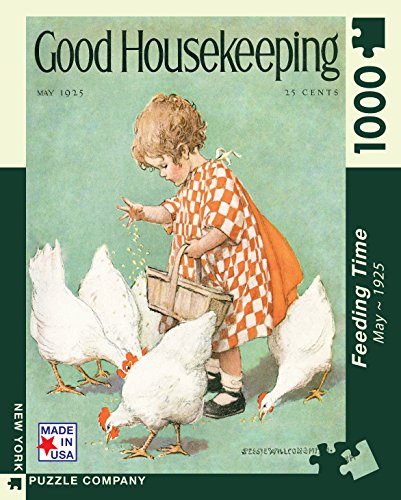 new-york-puzzle-company-good-housekeeping-feeding-time-1000-piece-jigsaw-puzzle