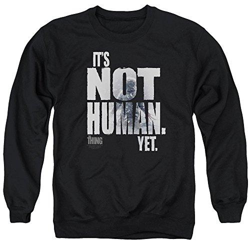 Thing - Not Human Yet Adult Crewneck Sweatshirt