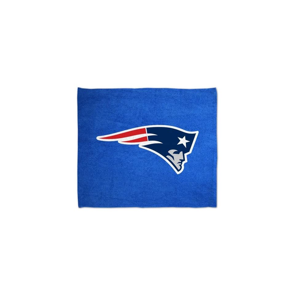 New England Patriots NFL Rally Towel 15x18 Sports Fan Football Hand Kitchen Bar Rag Officially Licensed NFL Merchandise