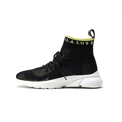 0459280758da6 Amazon.com: Hy Women's Socks Shoes Spring/Fall Knit High-Top Deck ...
