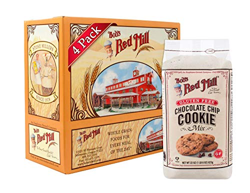 (Bob's Red Mill Gluten Free Chocolate Chip Cookie Mix, 22 Oz (4 Pack))