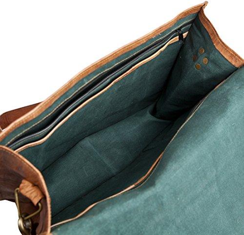 Vintage Bag Messenger Leather Work Briefcase Laptop 81stgeneration Genuine Shoulder Satchel USYYnq