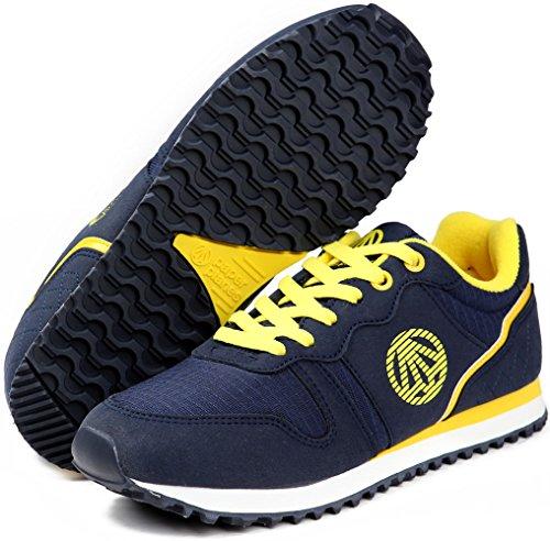 Paperplans-1181 Unisex Causal Camp Chaussures De Marche Chaussures Bleu Marine
