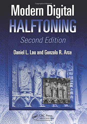 Modern Digital Halftoning (Signal Processing and Communications)
