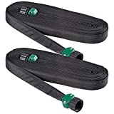 irrigation hose - Melnor Flat Soaker Garden Hose; 50 ft.; 2 Pack