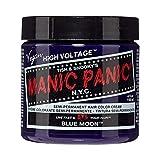 Manic Panic Moon Semi-Permanent Color Cream, Blue