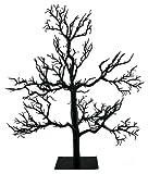 Kurt Adler Black Spooky Halloween Tree [OE21 HW0522]