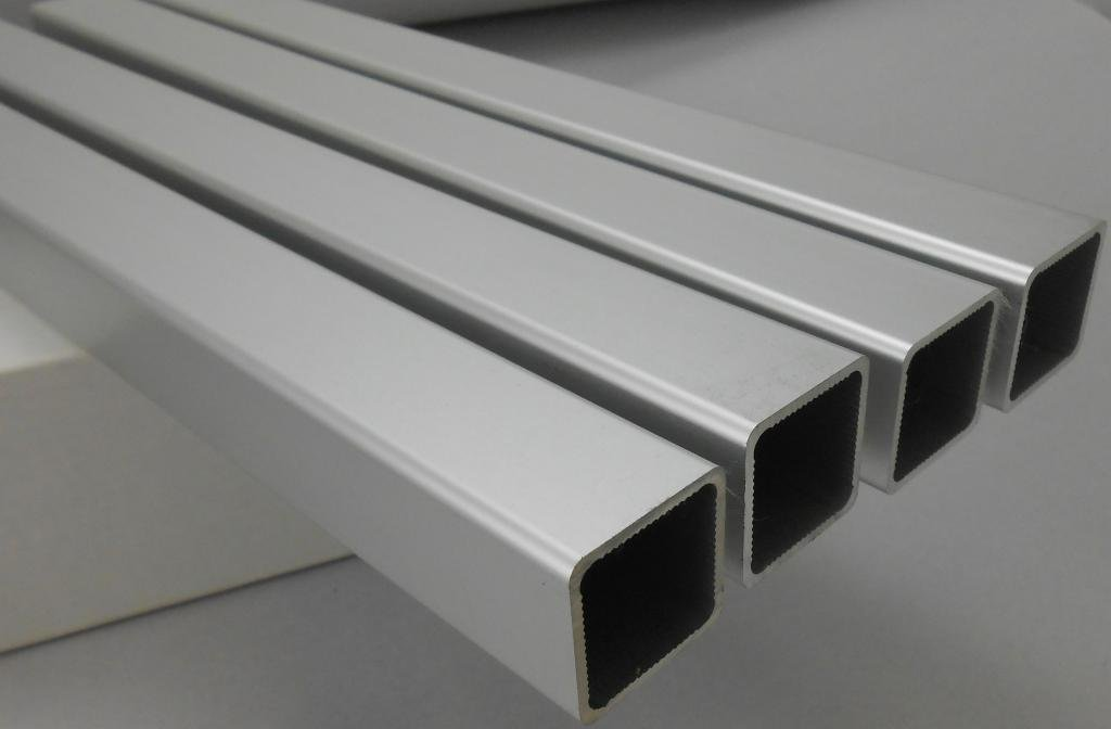 Alpina SQTUBE-SLV Square Aluminum Tube 1'' OD SILV ANOD 145 inches long, 9 lengths per pack. Ships cut in half unless buyer arranges with the shipper to ship uncut. by Alpina Manufacturing (Image #1)