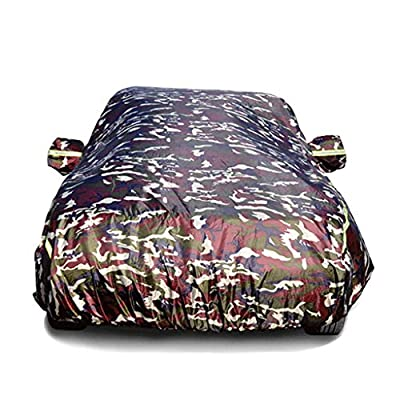Car Cover Waterproof Car Cover With Fluorescent Strips UV Protection All Weather Snow Dust Rain Wind Resistant Outdoor Protector Car Clothes Fit MAZDA-6 , MAZDA-Atenza , MAZDA-3Sedan , MAZDA-Axela ,