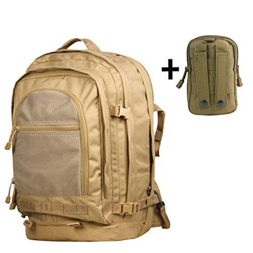 Akmax Military Duffle Backpack (Khaki)