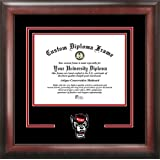 North Carolina State University Wolfpack - College Mascot - Spirit Mat Cutout - Diploma Frame