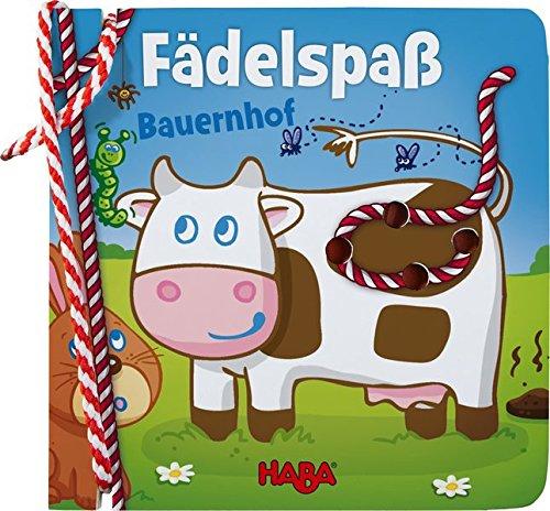 Fädelbuch - Fädelspaß: Bauernhof