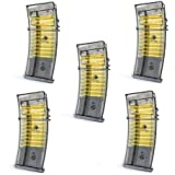 BBTac® Airsoft M85 Magazine for Double Eagle M85 Airsoft Gun Magazine, Five Pack, with BBTac® Warranty