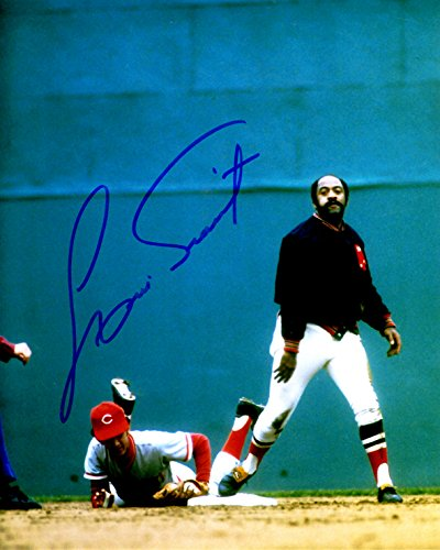 (Autographed Luis Tiant 8X10 Boston Red Sox Photo)