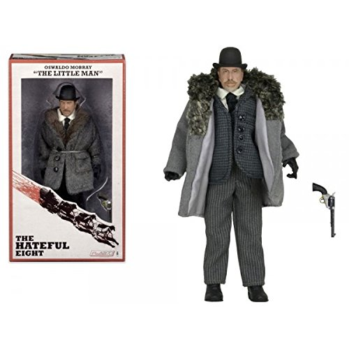 """The Hateful Eight Oswaldo Mobray """"The Little Man"""" Tim Roth 8"""" Action Figure"""